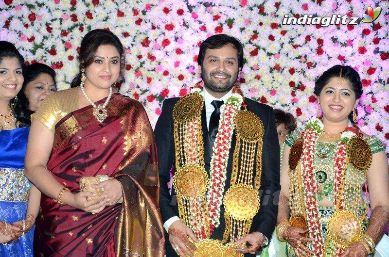 "IndiaGlitz™ | Telugu on Twitter: ""#Jayaprada son marriage ..."