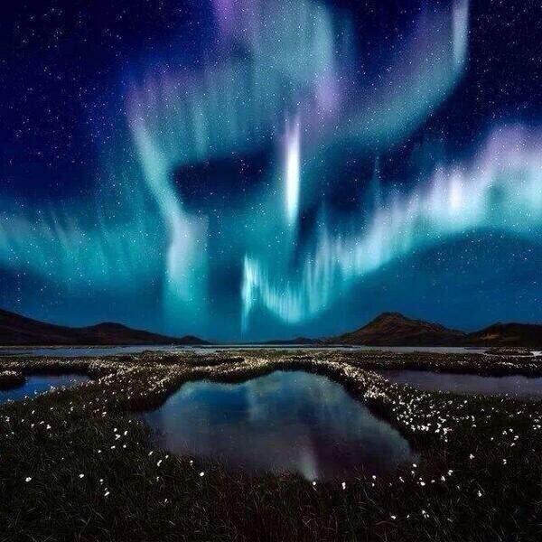 Aurora Borealis Over Iceland Last Night CVCun4UVAAAlhDy