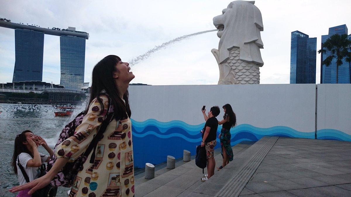 シンガポール、本当に楽しかった!観光も少し出来たし、チリクラブ食べたよ!☺また戻ってこれますように!日本から応援しに来てくれた方々もいました!すごくパワーもらったよ!ありがとう。 pic.twitter.com/IbDJiLxK7y