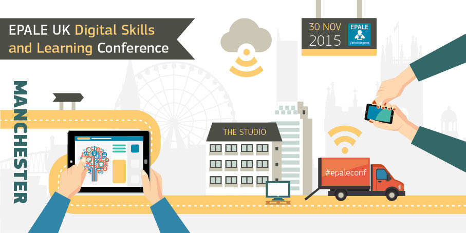 The @EPALE_UK #DigitalSkills & Learning Conference is taking place today! Follow #epaleconf https://t.co/MarDY6pM9x https://t.co/L22SXsj4Bi