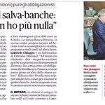 RT @PatriziaTerzoni: #IlPdTiFrega e noi diamo voce ai risparmiatori truffati: