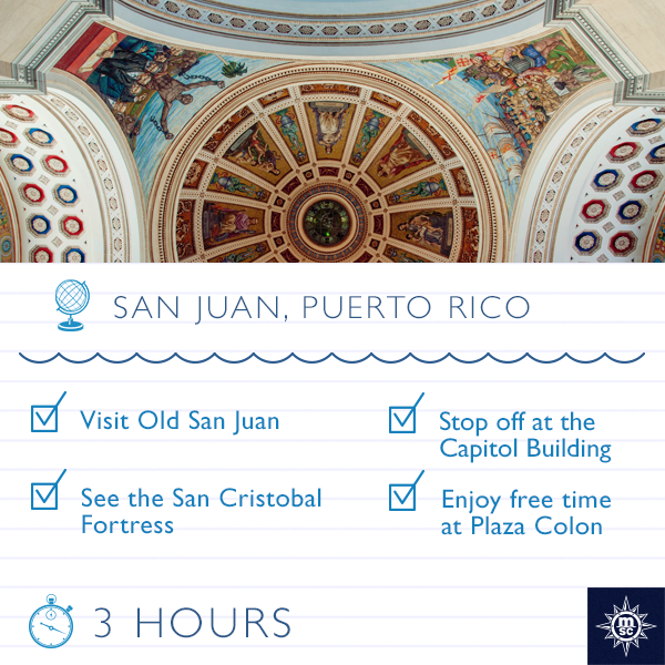 Captivating fuse of old world charm & modern entertainment, discover San Juan on a MSC #CaribbeanCruise. #Cruisechat https://t.co/T4DSLYInUG