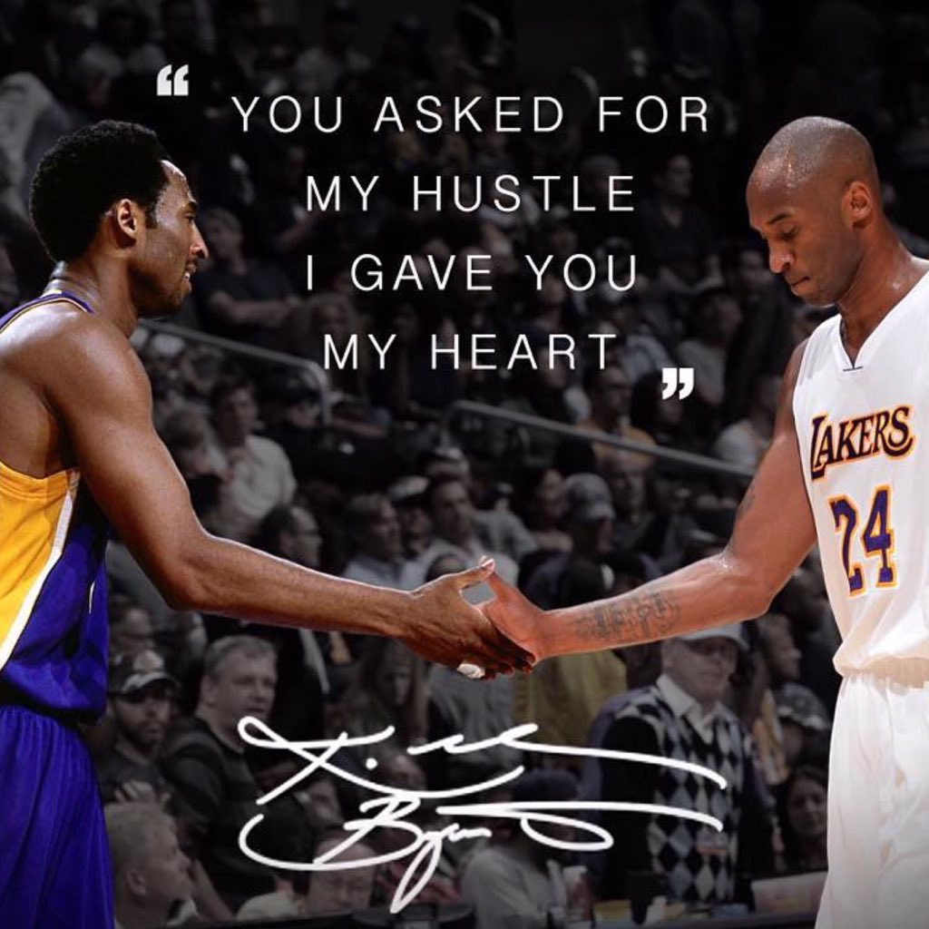 Absolutely love this image. First - last game. What a player he was @kobebryant #KobeBryant @BleacherReport https://t.co/fS4eRsLaYG