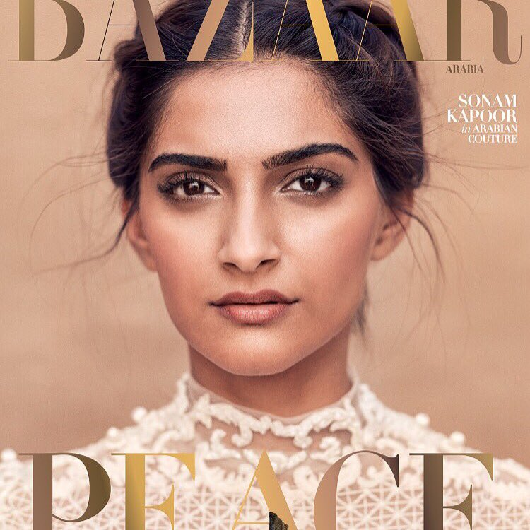 A truly iconic cover. @Sonamkapoor on the cover of @BazaarArabia.Read more in @khaleejtimes https://t.co/8ijzqqfUwh https://t.co/WuJY66ksMe