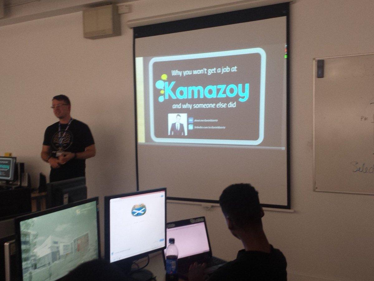 Thumbnail for Why You Won't Get A Job At Kamazoy - Daniel Dainty