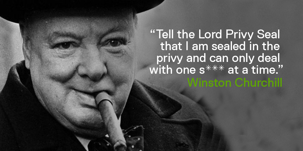 Yesterday Channel On Twitter An Amusing Churchill Quote To
