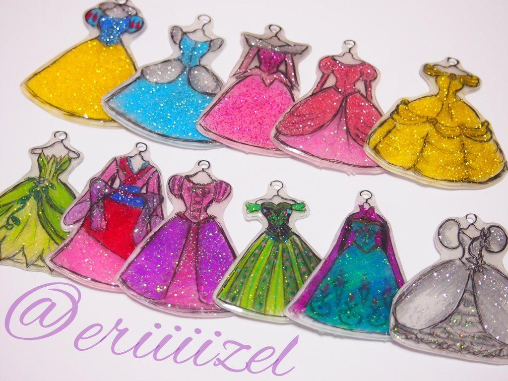eri on Twitter \u0026quot;ディズニープリンセスのドレス をイメージしてオリジナルの イラスト描いて作ったよ🎀 キラキラでかわいい💜✨✨✨ https//t.co/rY3edRuu9u\u0026quot;