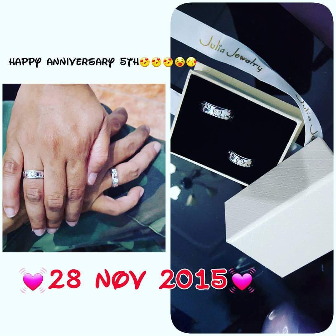 Julia Jewelry on Twitter Rayakan ulang tahun pernikahan Anda
