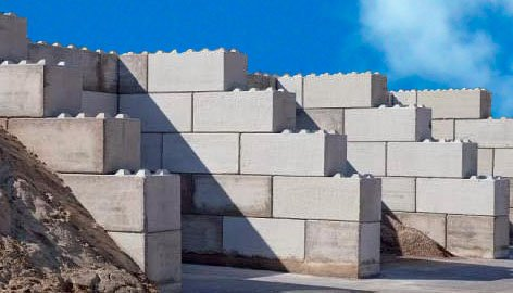 Gilva on twitter piezas para hacer muros para contenci n for Muro de contencion precio