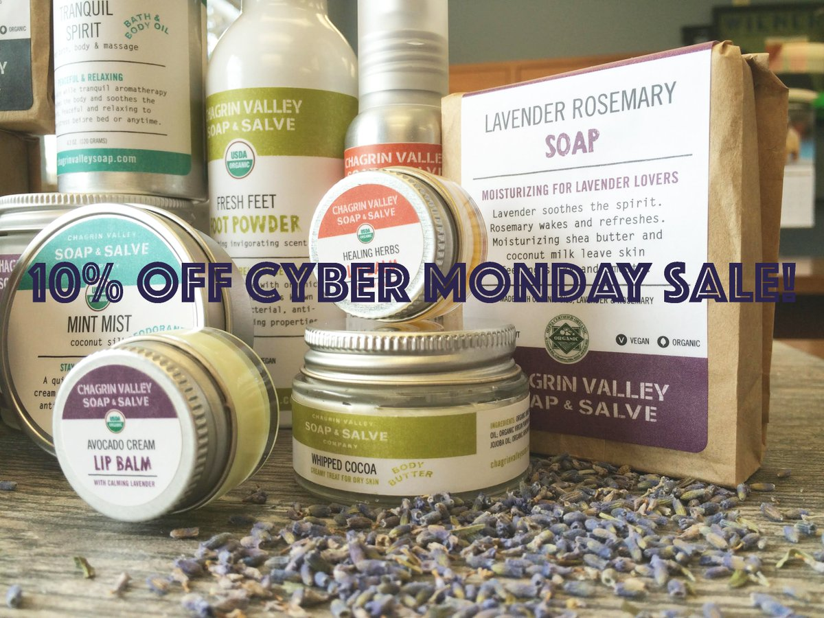 Chagrin Valley Soap on Twitter: