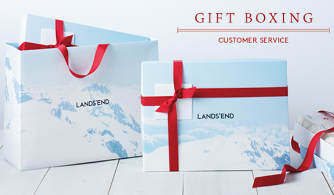 The classic red ribbons @LandsEnd are perfect for any Holiday gift. #LandsEndHoliday https://t.co/64Dy8rEE3e