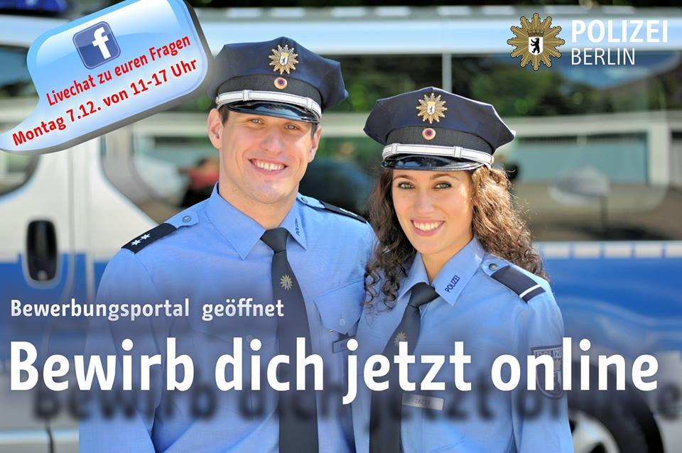 ausbildung polizei berlin