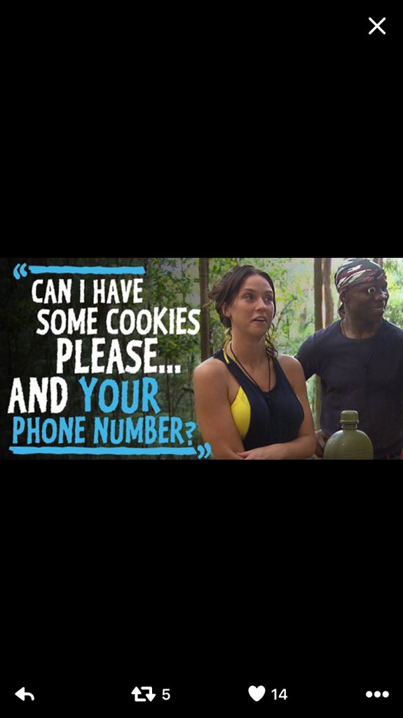 Smooth Vicky real smooth.. #junglequeenv #ImACeleb https://t.co/wCynZVjN4V
