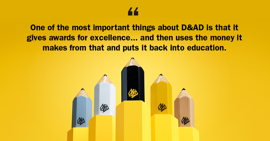 Neville Brody on why entering the D&AD Professional Awards matters: https://t.co/mG7mzr7frh