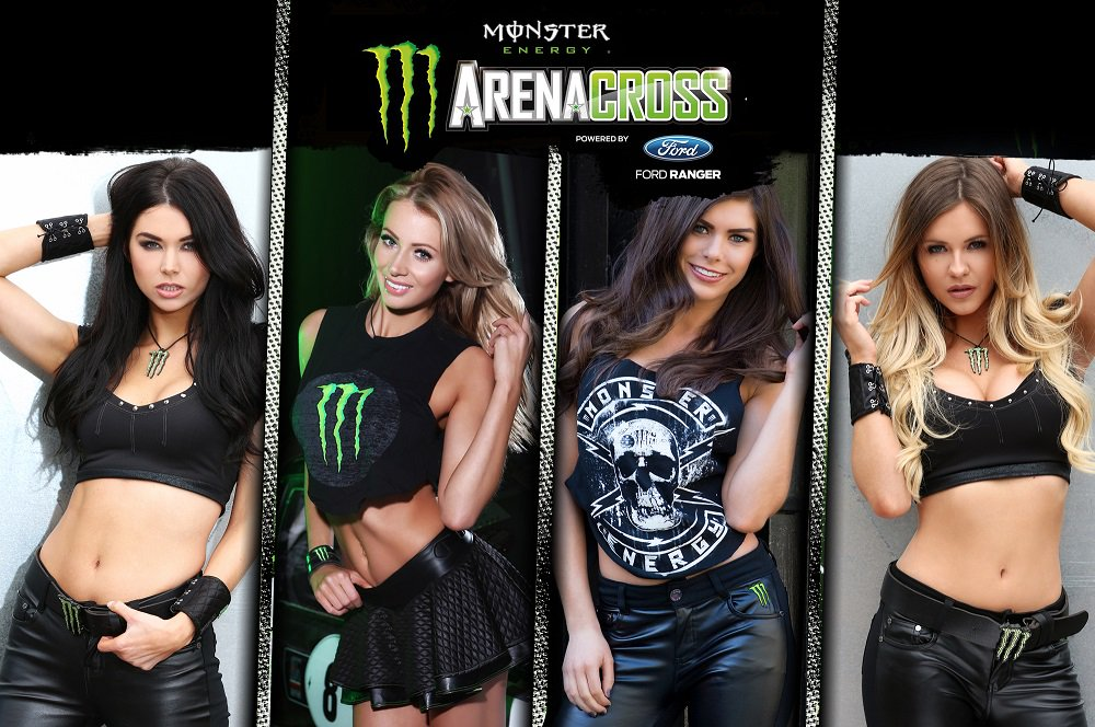 arenacrossuk on twitter introducing the 2016 monster energy ax girls. Black Bedroom Furniture Sets. Home Design Ideas