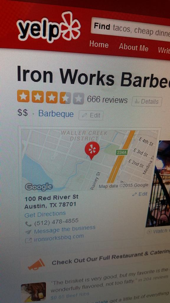 Oh no... would you mind adding a yelp review to get this review count changed. Thank you. #no666&#39;s for #Christmas<br>http://pic.twitter.com/DjeqpPZRus