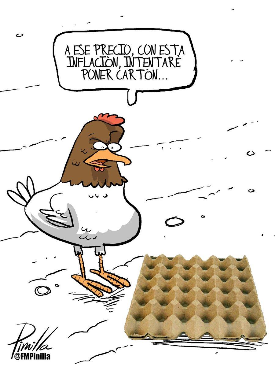 Fernando Pinilla Auf Twitter Caricatura Gallinas Solamente