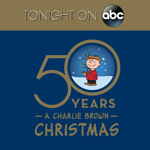 Charlie Brown Christmas 50th.Tune In To Abcnetwork At 8 7c For It S Your 50th Christmas
