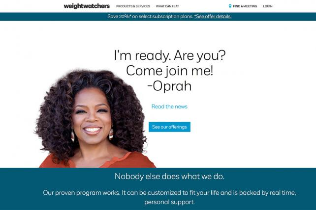 Weight Watchers users largely not thankful for app updates over Thanksgiving week https://t.co/6oysqqgfO6 https://t.co/0odOsztgfZ