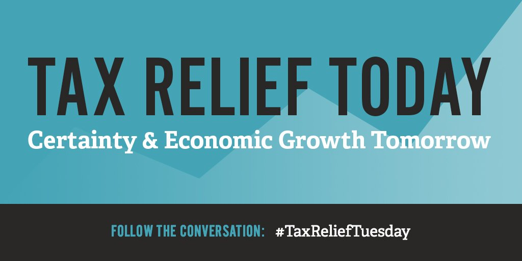 This #TaxReliefTuesday, speak up against #tax hikes for workers and businesses. Learn more: https://t.co/nZzif3aID7 https://t.co/Ger7b3PIXt