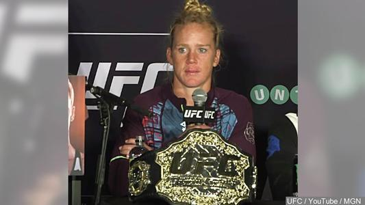 JUST IN: Celebration, parade planned for Holly Holm in ABQ Dec. 6 https://t.co/JA2lwAJeSi https://t.co/O1nwAvoZoF