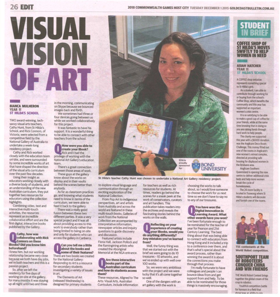 Yay! Our free resources for Nat Gallery of Aus being shared again... https://t.co/8nV4Iozg2C #artsed #ipaded #edtech