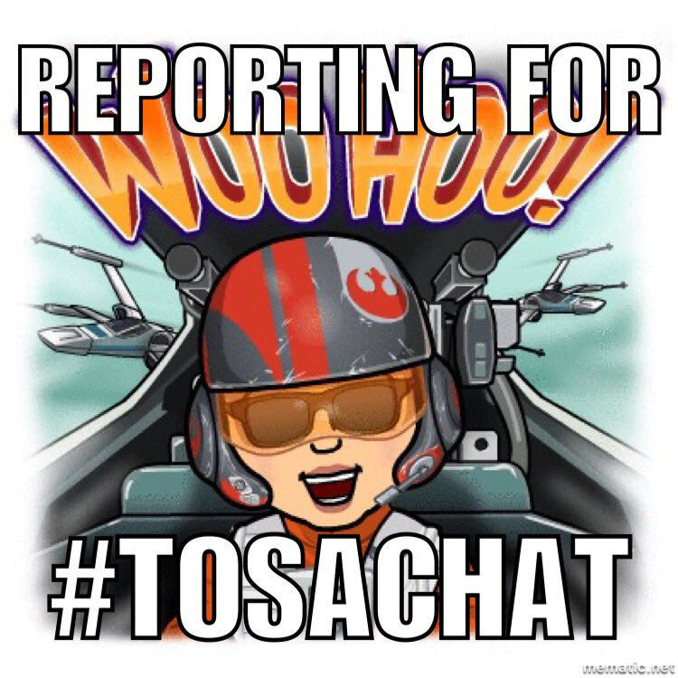 Ann here, TOSA in Fullerton, CA ready for #TOSAchat https://t.co/Mqa3OC0b7H