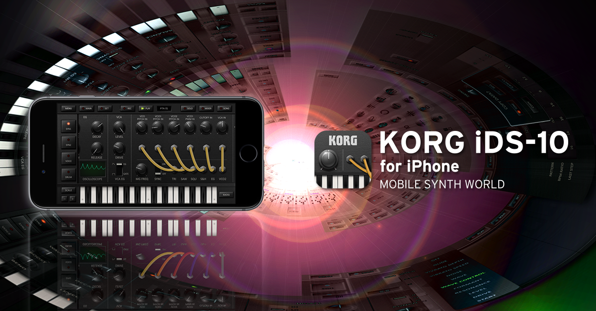 あのKORG DS-10シリーズ最新作がiPhoneで新登場!「KORG iDS-10 for iPhone」本日発売。発売記念セールを12/28まで実施。 https://t.co/FEe3l85V8E https://t.co/dXuApaw45e