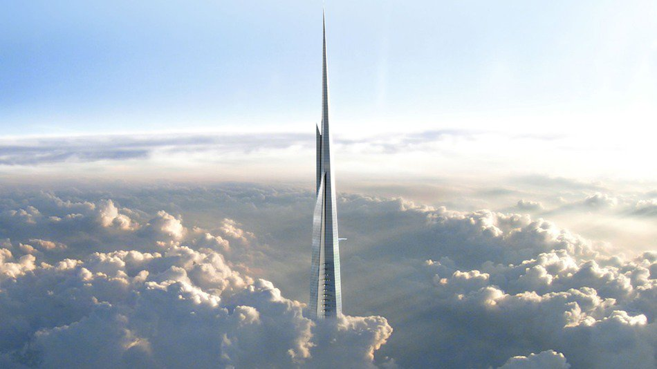 RT @mashable: The new tallest building in the world will be a kilometer high: https://t.co/kEWdaUk090 https://t.co/KDvcegbcgc