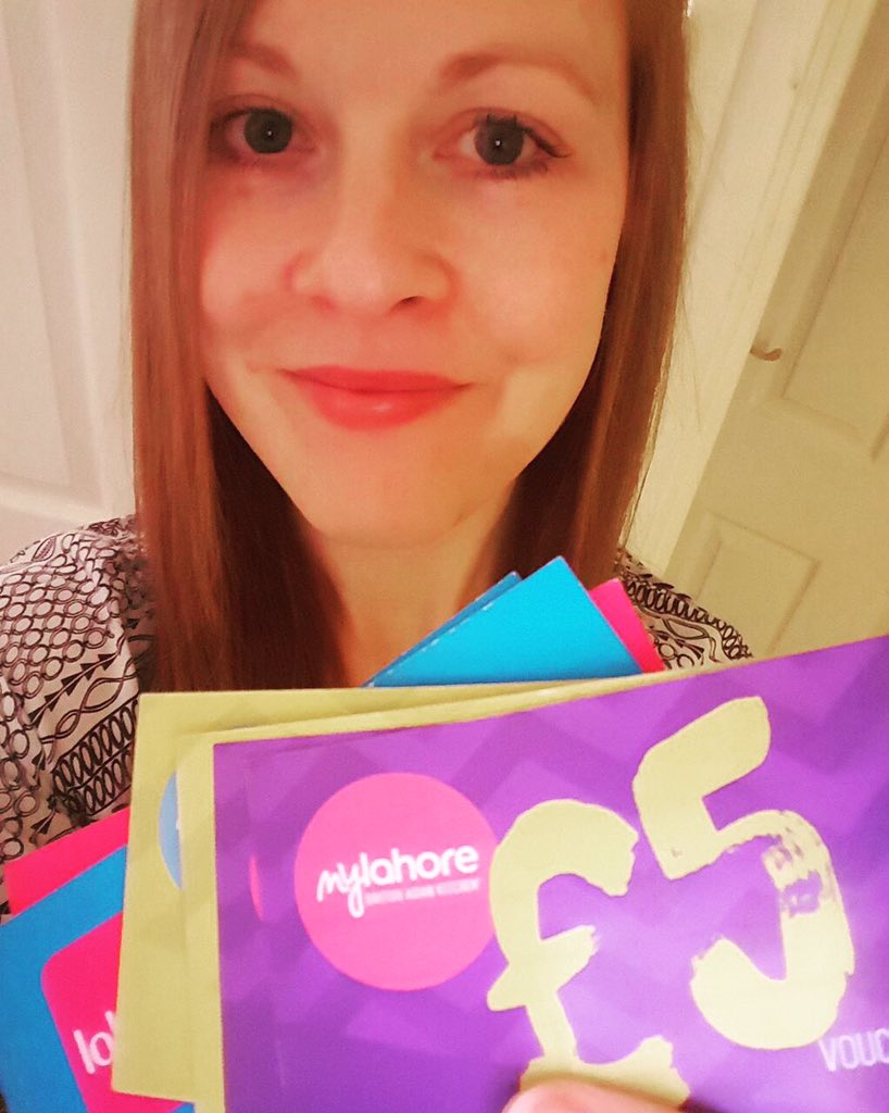"Lisa M Smith our ""Retweet to win"" #competition winner with #mylahore #vouchers #FreebieFriday https://t.co/PSS6CEiICG"