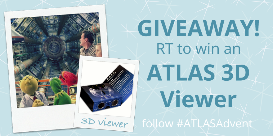Day 1 of #ATLASAdvent: Re-tweet this image for a chance to win 1 of 3 ATLAS 3D viewers, shown in the image below! https://t.co/4rzCqv1o5F