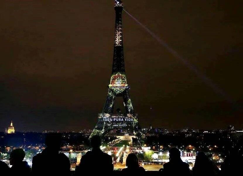 Roiner On Twitter Torre Eiffel En Francia Con La Frase