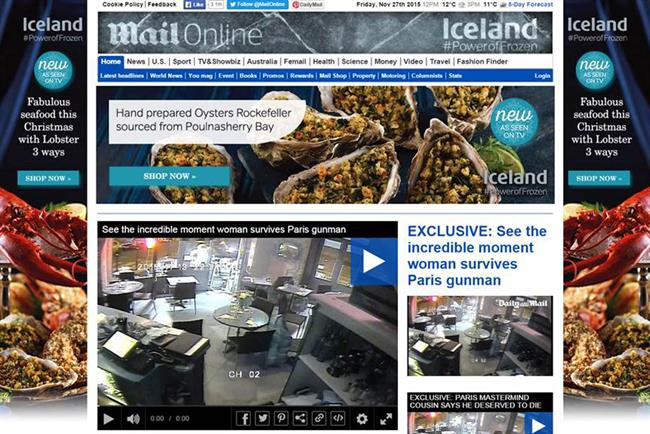 RT @Campaignmag: Iceland takes over @MailOnline masthead https://t.co/jMtYMQjbyi @IcelandFoods @the7stars https://t.co/msucYkjhsc