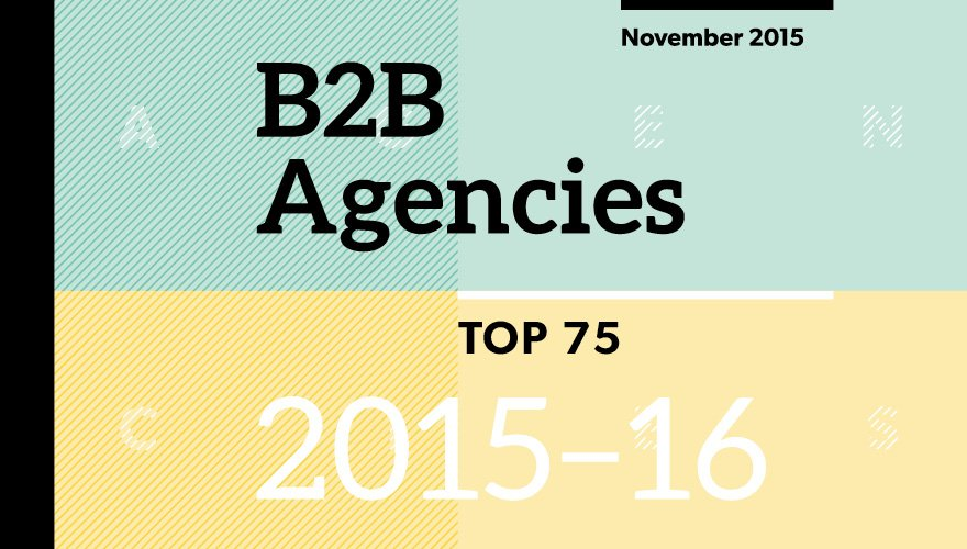 How to become a top B2B agency https://t.co/9pqBIKlJyQ #TopB2BAgencies https://t.co/vlY6D589Gr