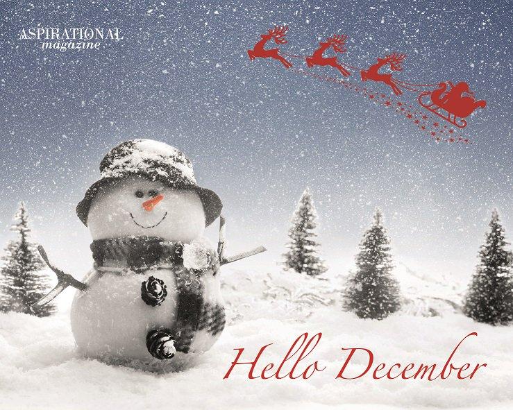 RT @AspirationalMag: It's December! https://t.co/i30LTlRsK0