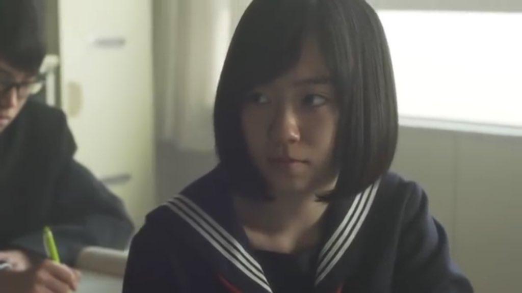 鋭い目つきの柴田杏花