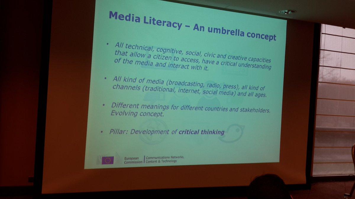 Ideas are floating at the #MediaLiteracy Expert Group meeting. Nice mandate!  https://t.co/JgpbonQJU9 #EUML15 https://t.co/EIw5P9pkdi