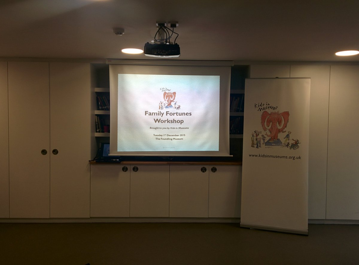 We're ready and welcoming delegates to our #familyfortunes workshop @FoundlingMuseum MW https://t.co/eSgXFhf9z3
