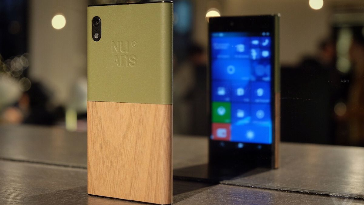 This bizarre Japanese Windows phone is an alternative to the thinness arms race