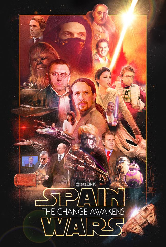YouTube censuró el video Spain Wars. La  Fuerza Jedi lo relanza con HT  #SpainWars20D  https://t.co/xv7HmYei4u #20D https://t.co/eirV6ZZVnX