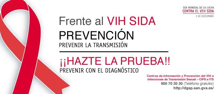 Frente al VIH SIDA: Prevención - Hazte la prueba