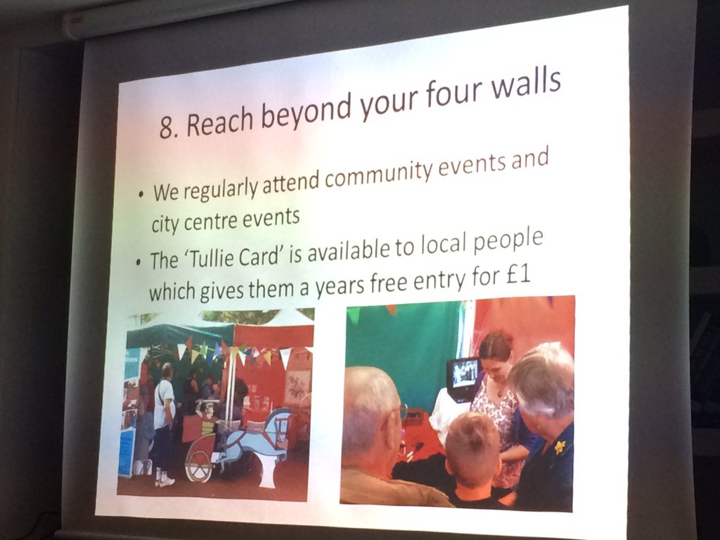 Reach outside your walls @TullieHouse take objects to local events and have conversations. #familyfortunes KB https://t.co/mJlZ3w7ZeT