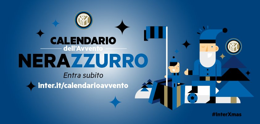 Interit Calendario.Calendario Avvento Inter It Scoprilo Interxmas F C