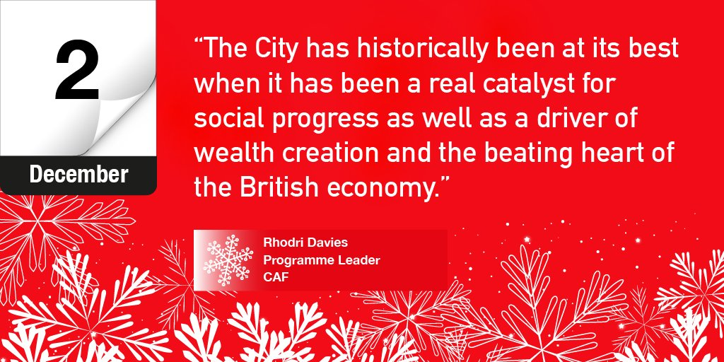 Day 2 of our #InspiringAdvent features wise words from @Rhodri_H_Davies @cafonline - https://t.co/HSx1xFPQE5 https://t.co/W43UILbicl