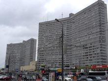 здания красным на кадастровой карте