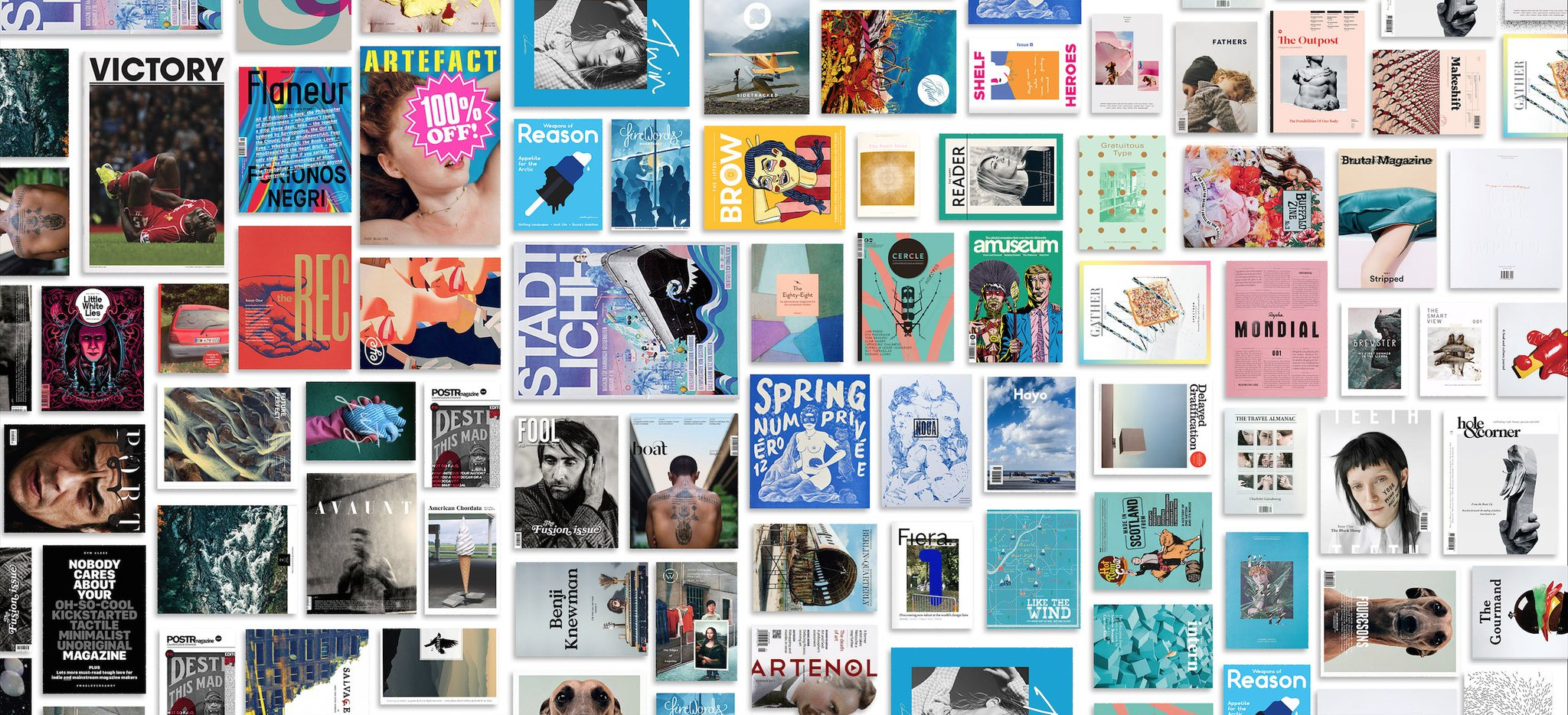Announcing the independent magazines celebrating at the first ever @StackMagazines Awards: https://t.co/7Q877C5CQ0 https://t.co/sEYThB72VW