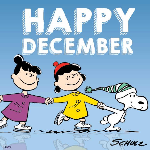 Peanuts On Twitter Happy December Https T Co Wl6ltf9uxe