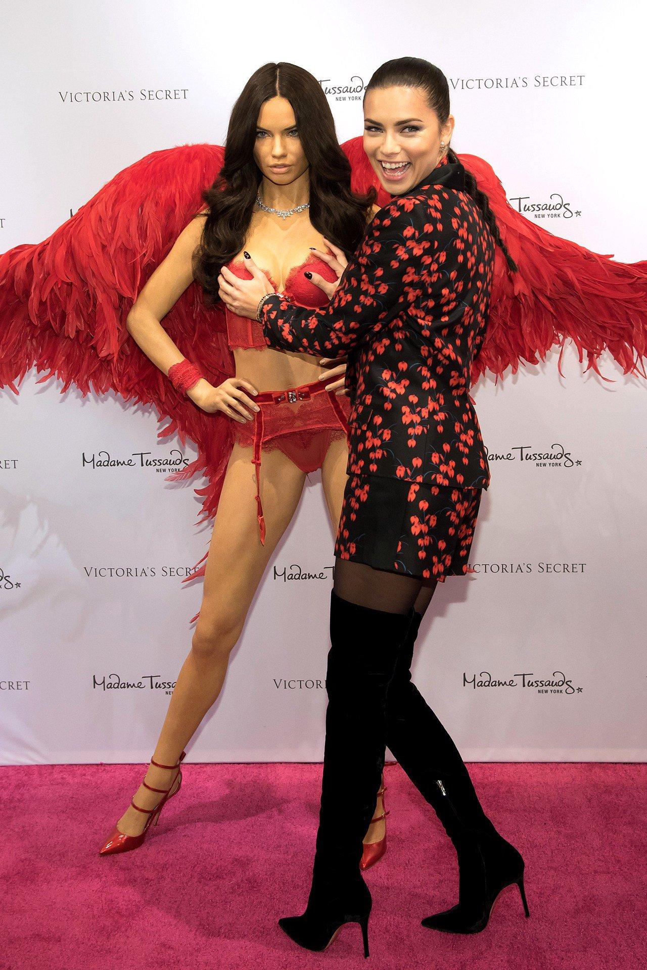 Why @AdrianaLima's waxwork is wearing red: https://t.co/82QtlCFI9q https://t.co/lFrCIRsGo9
