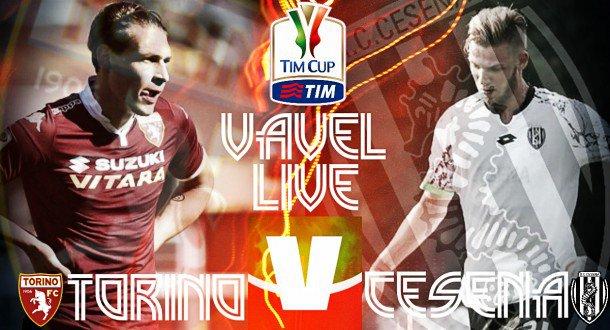 Si parte! Inizia la nostra diretta di #TorinoCesena  #TimCup #CoppaItalia #Torino #Cesena https://t.co/xPBVIEyicm https://t.co/EVLPm6iYwM