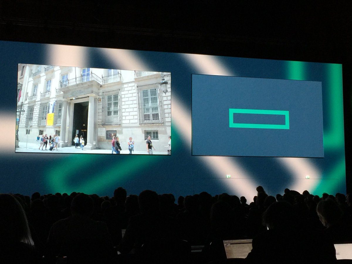 I can totally get on board with location tracking and interactivity in a museum environment! #HPEDiscover https://t.co/lrJm7FTQ6P